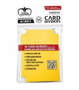 Tarjetas Separadoras Amarillo (10)