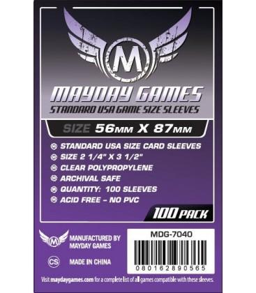 Fundas Mayday USA (56x87mm) (100)