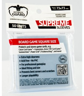 Fundas Ultimate Guard (73x73mm) SUPREME - Cuadrado (50)