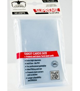 Fundas Ultimate Guard (73x122mm) SUPREME - Tarot (50)