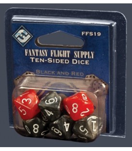 Fantasy Flight Dice - Dados de 10 Caras (6)