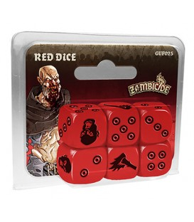 Zombicide Black Plague: Red Dice