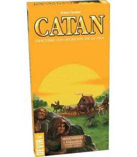 Catan Expansión: Mercaderes y Bárbaros (Ampliación para 5 y 6 Jugadores)