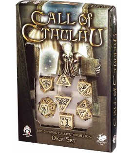 Q-Workshop: Call of Cthulhu (Beige/Negro)