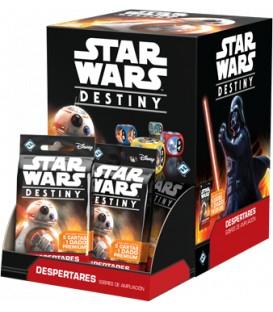 Star Wars Destiny: Despertares (Expositor con 36 Sobres de Ampliación)