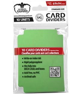 Tarjetas Separadoras Verdes (10)