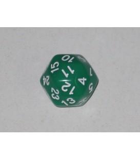 Dado 30 Caras (Verde)