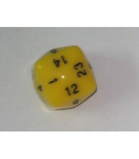 Dado 24 Caras (Amarillo)