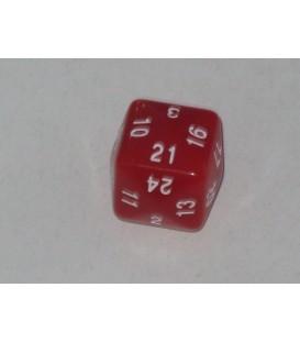 Dado 24 Caras (Rojo)