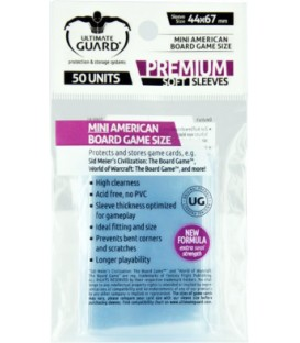Fundas Ultimate Guard (44x67mm) PREMIUM - Mini American (50)