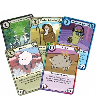 Hora de Aventuras Card Wars: Princesa Chicle contra Princesa del Espacio Bultos