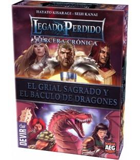 Legado Perdido: Tercera Crónica - El Grial Sagrado y el Báculo de Dragones