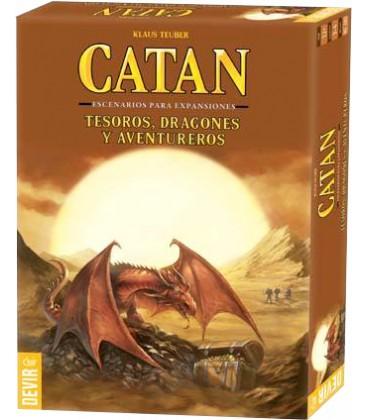 Catan: Tesoros, Dragones y Aventureros