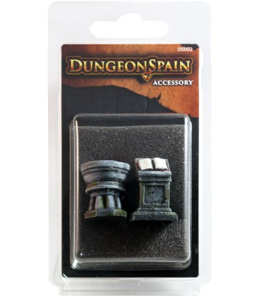 Dungeon Spain - Pack Accesorios 9: Atril y Pila