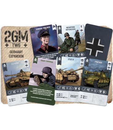2GM Tactics: Refuerzos Alemania