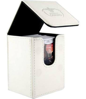 Deck Case Leatherette 80+ Blanco Ultimate Guard