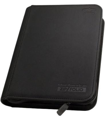 Álbum Mini American Zipfolio 9-Pocket Negro - Ultimate Guard