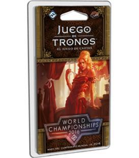 Juego de Tronos LCG (2ª Edición): Mazo del Campeonato Mundial 2016