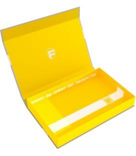 Caja Magnética Amarilla Vacía (40 mm.)
