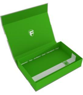 Caja Magnética Verde Vacía (55 mm.)