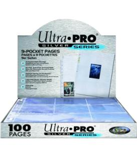 Ultra Pro Silver Series Pages [9 Bol] (100) 3 Anillas