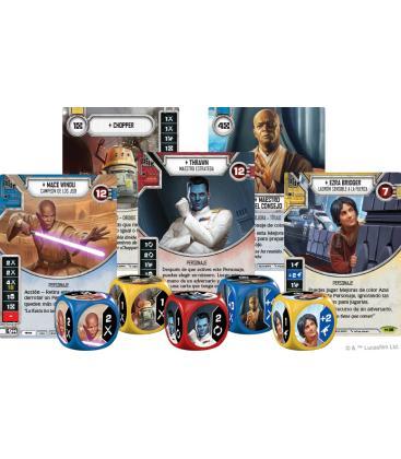 Star Wars Destiny: El Imperio en Guerra (Expositor con 36 Sobres de Ampliación)