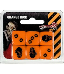 Zombicide: Dados Naranja