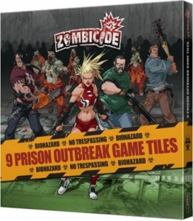 Zombicide Temporada 2: Prison Outbreak Game Tiles