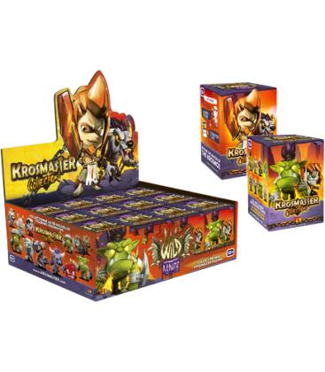 Krosmaster Arena: Figuras surtidas - Caja 12 Unidades (Ola 5) Reinos Salvajes + Promo