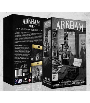 Arkham Noir 1: Los Asesinatos del Culto de la Bruja