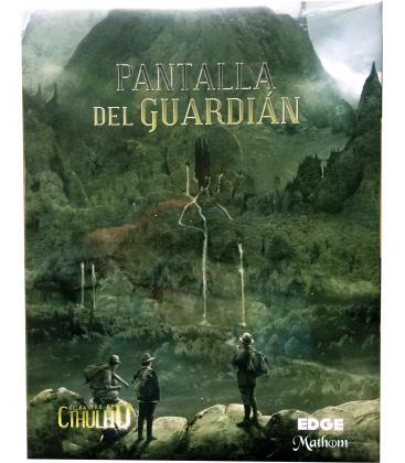 El Rastro de Cthulhu: Pantalla y Libro de Apoyo del Guardián