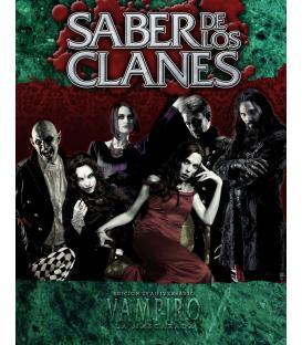 Vampiro la Mascarada 20º Aniversario: Saber de los Clanes (Deluxe)