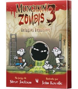 Munchkin Zombies 3: Refugios Repulsivos