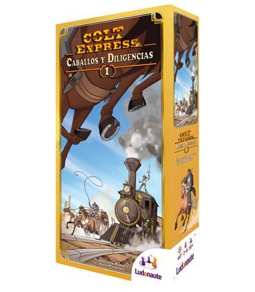 Colt Express: Caballos y Diligencias