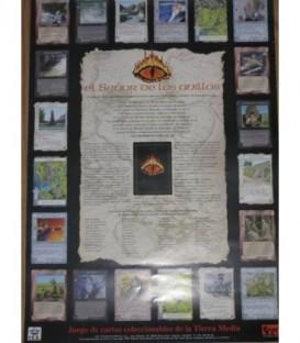 Póster - El Señor de los Anillos Juego de Cartas Coleccionable