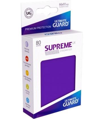 Fundas Ultimate Guard (66x91mm) SUPREME MATTE UX - Morado (80)