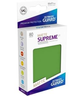 Fundas Ultimate Guard (66x91mm) SUPREME MATTE UX - Verde (80)
