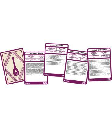 Dungeons & Dragons: Bardo (Cartas de Conjuros)