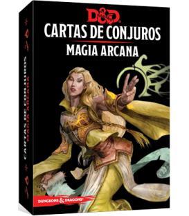 Dungeons & Dragons: Cartas de Conjuros (Magia Arcana)