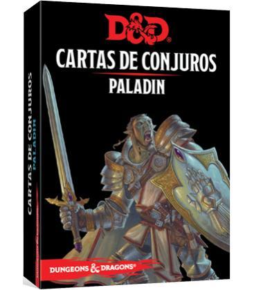 Dungeons & Dragons: Paladín (Cartas de Conjuros)