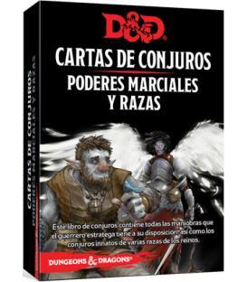 Dungeons & Dragons: Cartas de Conjuros (Poderes Marciales y Razas)