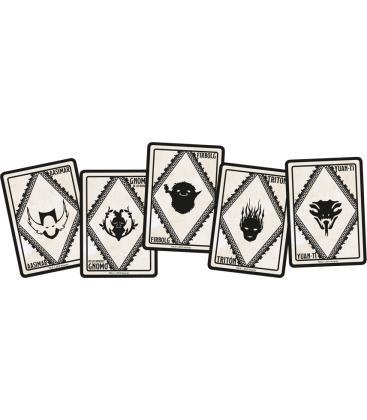 Dungeons & Dragons: Poderes Marciales y Razas (Cartas de Conjuros)