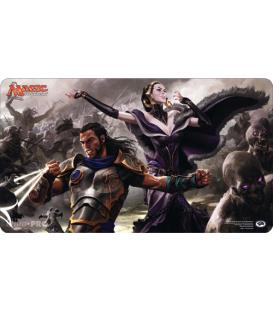 Magic the Gathering: Tapete Gideon and Liliana
