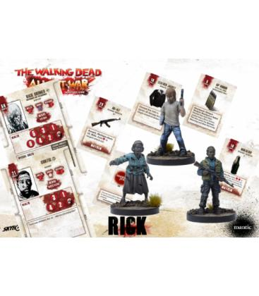 The Walking Dead: Rick Disfigured but Determined