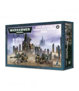 Warhammer 40,000: Escuadra de Armas Pesadas de Cadia