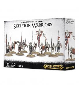 Wahammer Age of Sigmar: Deathrattle Skeleton Warriors