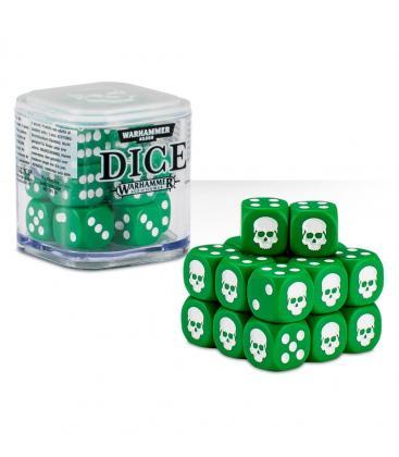 Cubo de Dados Warhammer - Verde (20)