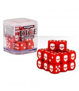 Cubo de Dados Warhammer - Rojo (20)