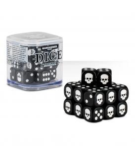 Cubo de Dados Warhammer - Negro (20)