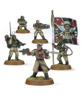 Warhammer 40,000: Astra Militarum (Cadian Command Squad)